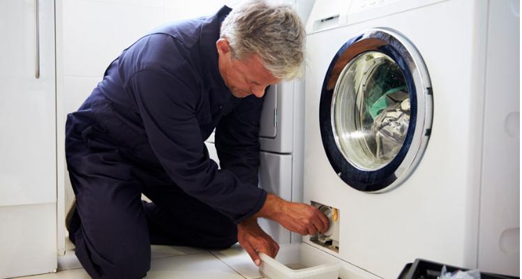 فرسایش کلاج، علت آبگیری نکردن ماشین لباسشویی